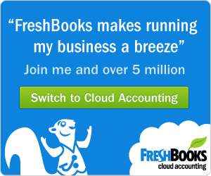 Accounting Software Freshbooks  Amazon Offer April 2020